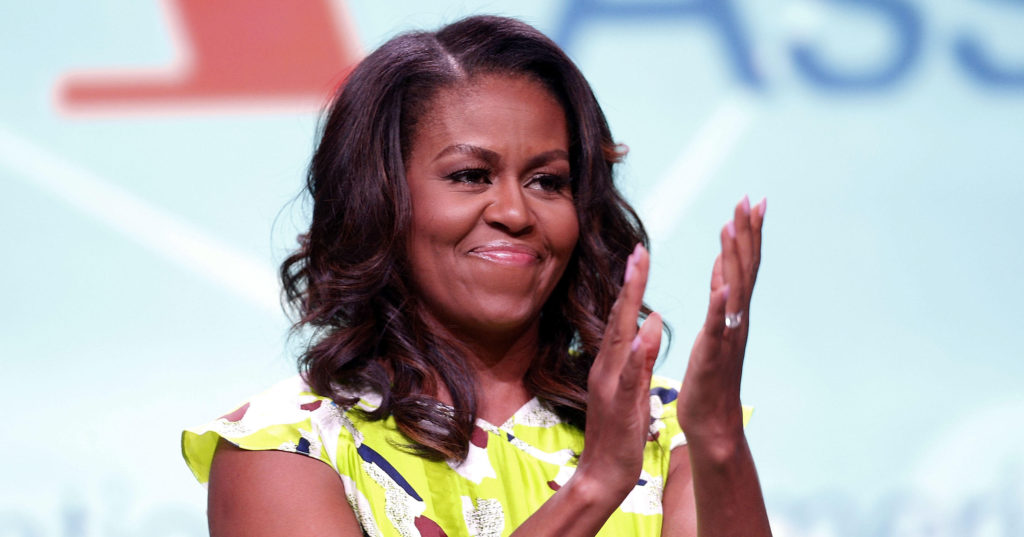 Michelle Obama announcing new book, Becoming