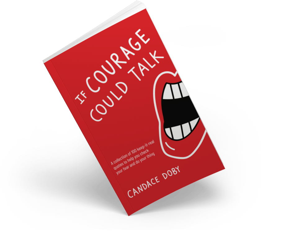 If Courage Could Talk Book Angle