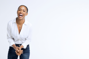 candace doby laughing