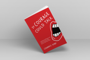 if courage could talk book at an angle