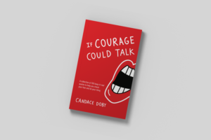 if courage could talk flat book cover
