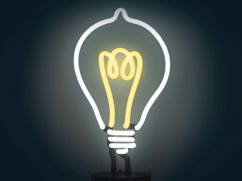 lightbulb - 3 mindsets to remember when trying to act courageoulsy
